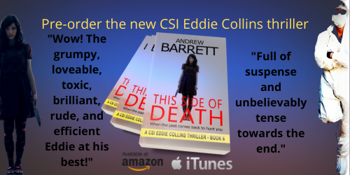 Promotional banner for This Side of Death