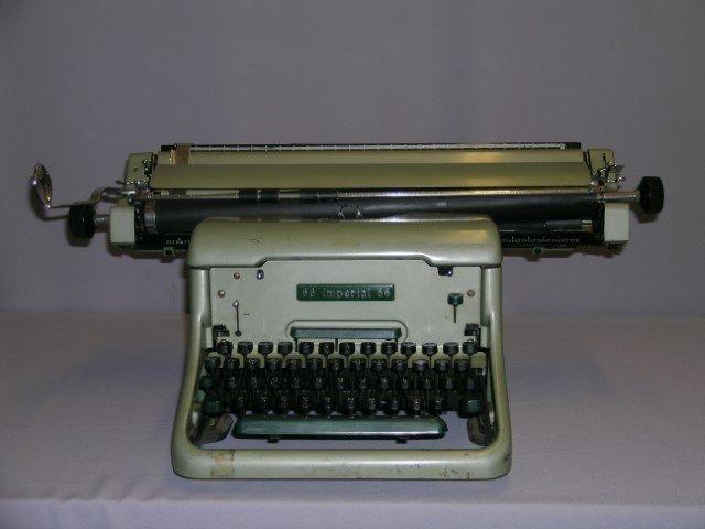 Imperial 66 typewriter