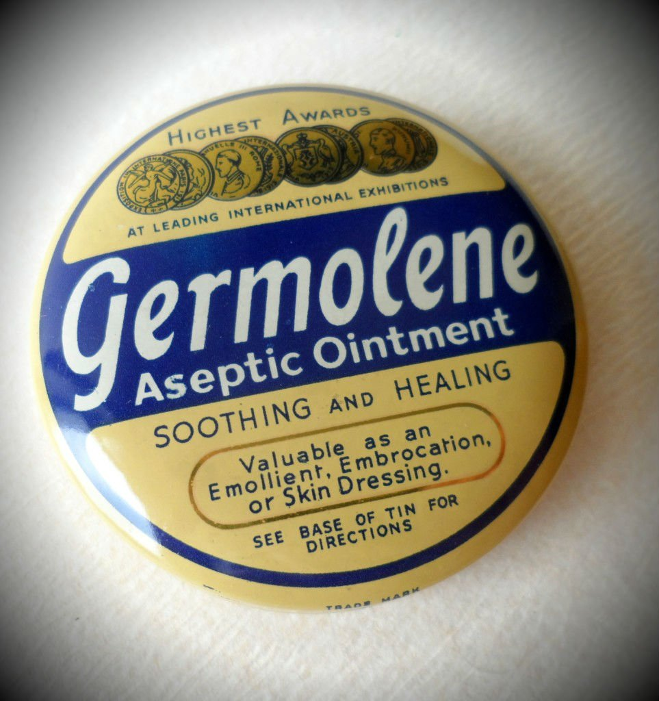 a tin of Germolene